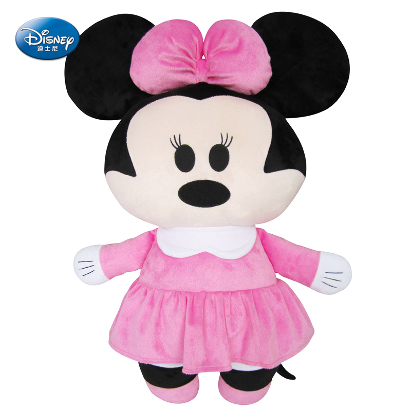 """Disney Minnie Mouse 24"""" inches Plush Flat headrest pillow Baby Stuffed Toy Kids Preferred 61cm(China (Mainland))"""