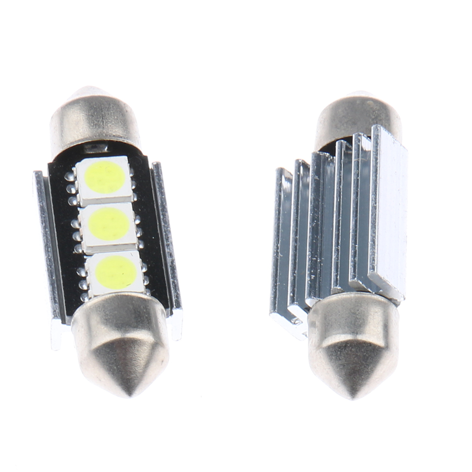 10pcs 36mm CANBUS Error Free Festoon 5050 4 SMD Car Licence Plate Light Auto housing Interior Dome lamp Reading Lights(China (Mainland))