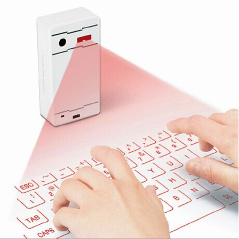 Virtual Laser keyboard and Mouse for Computer Ipad Tablet Projected Bluetooth Keyboard Wireless Keyboard(China (Mainland))