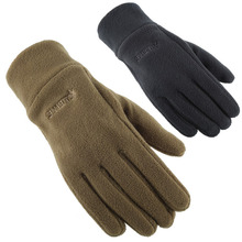 Gloves male winter lovers gloves thickening winter outdoor cold-proof thermal fleece gloves