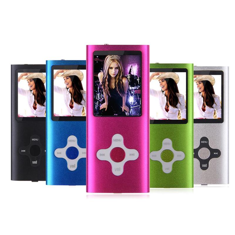 New high quality FM Video 32GB Mini Colorful cross key MP3 MP4 Player 1.8' LCD Screen MP3 MP4 music player Free Shipping(China (Mainland))