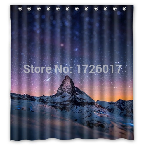Yoosee fantasy night sky personalized custom shower for Fantasy shower curtains