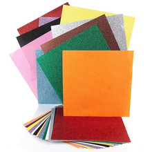 "120 Piece Hot Selling American  Design 12*12"" Ordianry colorful glitter paper eco-friendly glitter  paper(China (Mainland))"