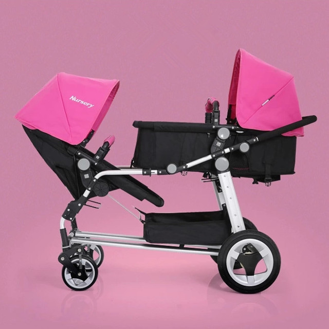 fabrik billige zwillinge kinderwagen gr n rot rosa hochwertige kinderwagen f r baby 0 3 jahre. Black Bedroom Furniture Sets. Home Design Ideas