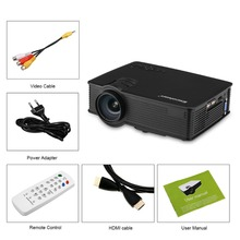 Excelvan GP9 EHD09 Mini LED Projector 800x480pixels Support 1080P 2000 Lumens Home Cinema HDMI/USB/SD/AV/3.5mm GP9 Proyector(China (Mainland))