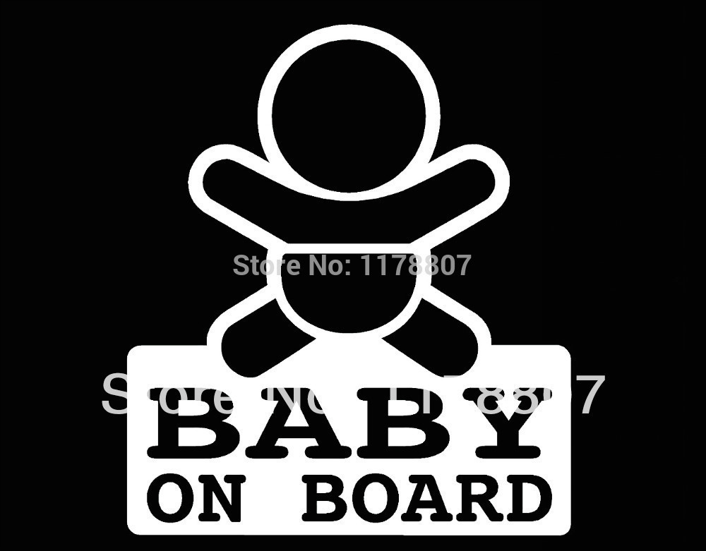 40 pcs/lot Baby On Board Boy Decal Sticker Cycling Car Seat Safety Window Truck Bumper Auto Door Laptop Kayak Canoe Baby in Car<br><br>Aliexpress