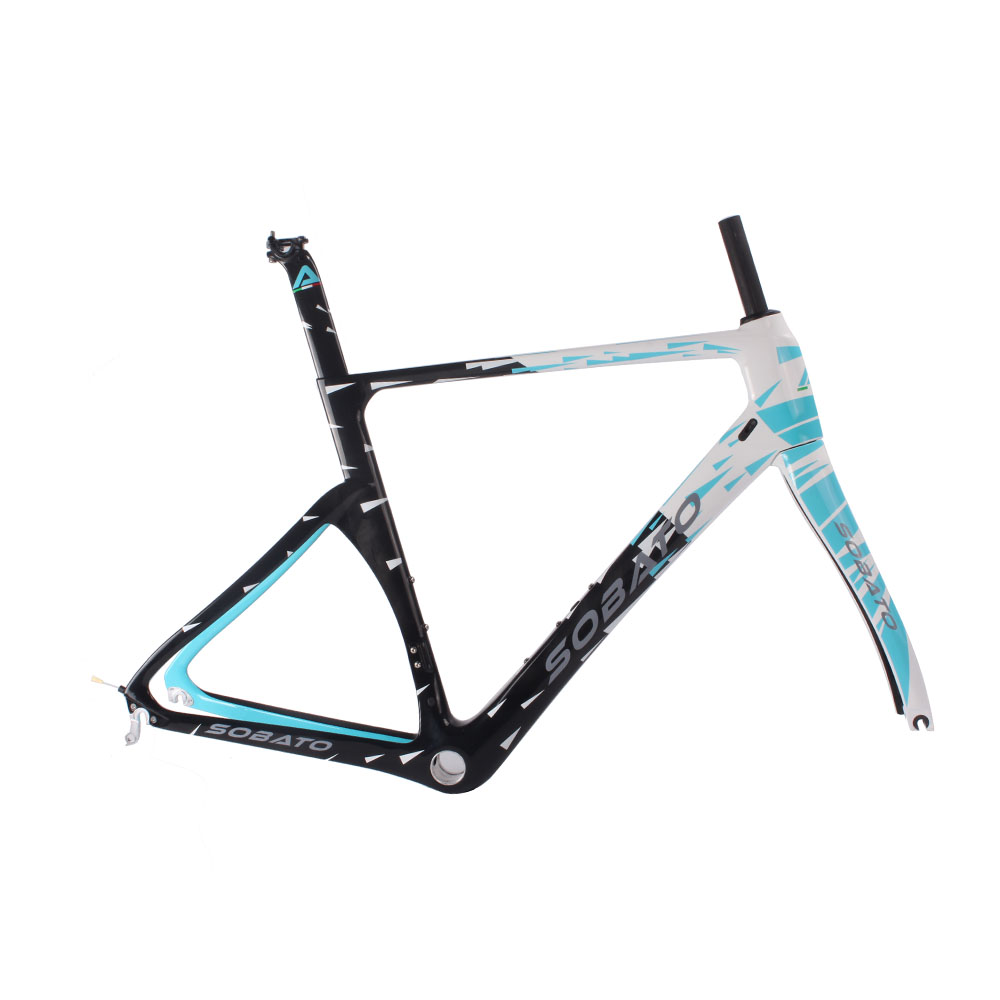 New Arrival Carbon Aero Road Frame 2016 Chinese Road Bike Di2 Carbon Road Frame UD Glossy DIY Painting(China (Mainland))
