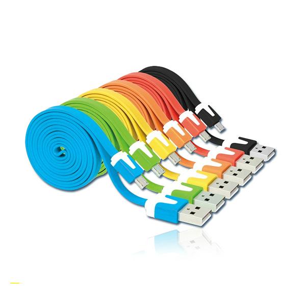 Гаджет  8 Colors 2014 Hot Sale  Micro USB Data Cable 3M Long Cable Line for Android Phones HTC  Wholesale None Телефоны и Телекоммуникации