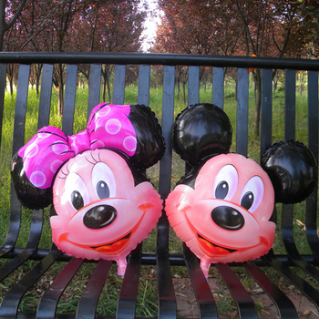 1pcs/lot cartoon Minnie mickey mouse Alumium Foil Balloons for Birthday Party Wedding Kids Party Decoration
