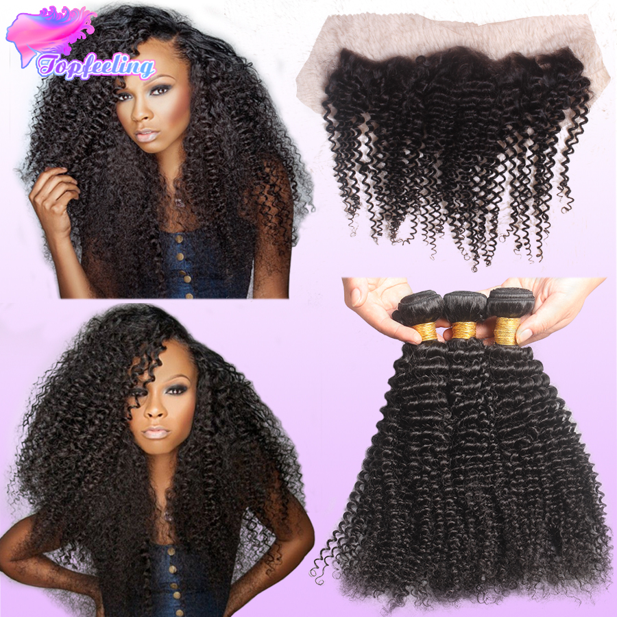 13x4 Peruvian Lace Frontal Closure With Bundles Unprocessed Human Hair Deep Curly With Lace Frontal Weave From Ear To Ear Stock<br><br>Aliexpress