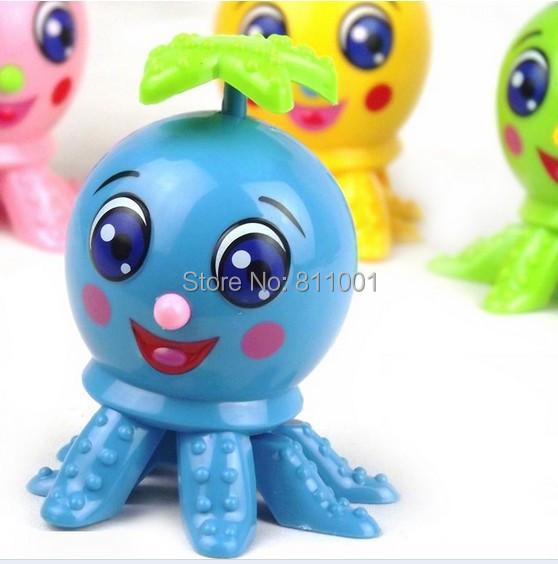 Wholesale Amusing Cute Cartoon Vitality Octopus Wind Up Toys Baby Clockwork Toys Educational Classic Toys(China (Mainland))