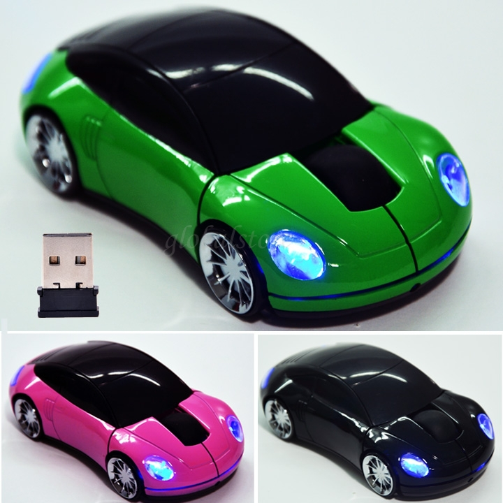 2 4ghz optical wireless gaming mouse mice car shape usb. Black Bedroom Furniture Sets. Home Design Ideas