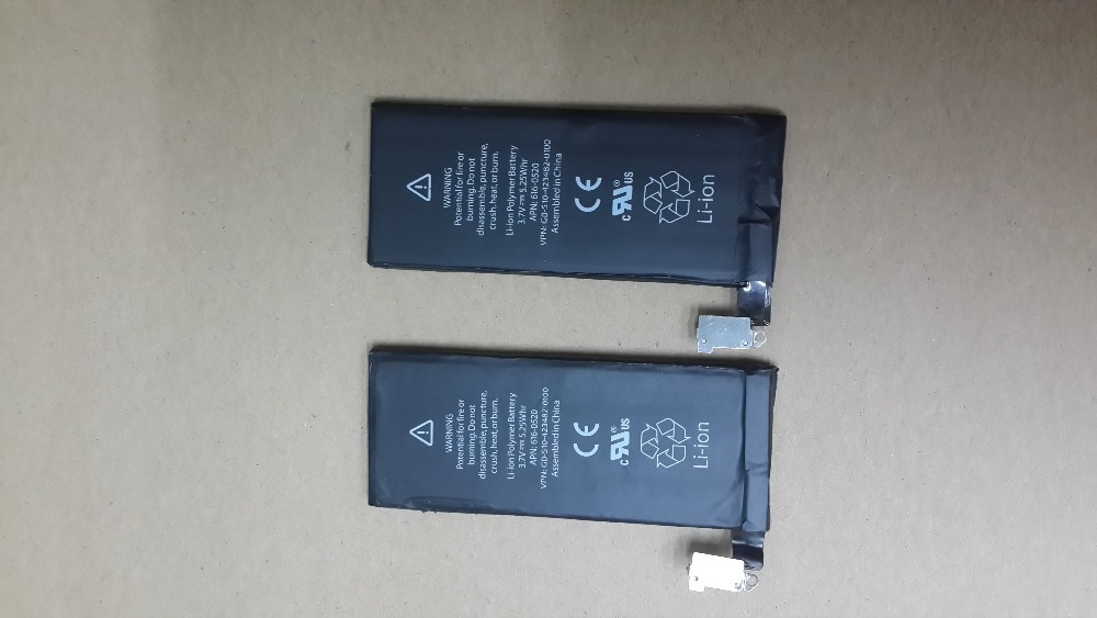 20pcs/lot Replacement Battery for Apple iPhone 4 4G Internal 3.7V 1420mAh Free Shipping(China (Mainland))