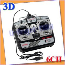 RC Helicopter Airplane Flight Simulator FMS 6CH USB 3D +free shipping(China (Mainland))