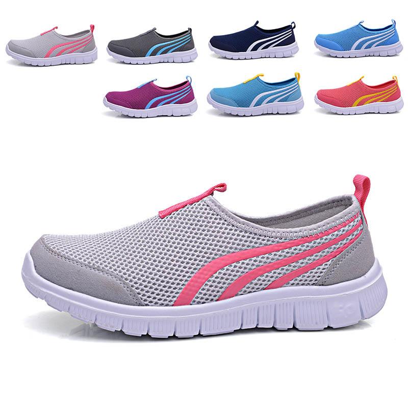 2016 NEW Fashion Women casual shoes, Cheap Walking Men's flats Shoes men breathable Zapatillas Casual Shoes 7colors size 34-44(China (Mainland))