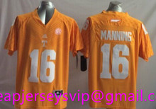 Cheap Youth Tennessee Volunteers Peyton Manning Kids Orange White Embroidery Logo Free Shipping camouflage(China (Mainland))