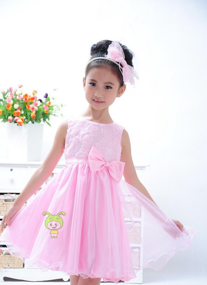 2014 New 10 Year Olds Girls Dress Flower Girl Bulk China