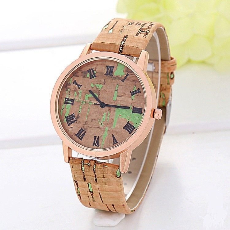 Гаджет  2015 New Fashion Wristwatch Wood Grain Sports Casual Quartz Watch Women Ladies Men Elegant Vintage Style Watch Clock Relogio None Часы