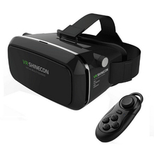 Original Shinecon Virtual Reality Smart Glasses Headset VR Box For 3.5 to 6.0 inch phone + Remote Controller
