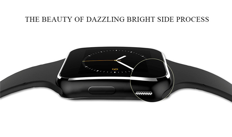 Fashion Black Sport Bluetooth Smart Watch For Android IOS Phone Call SIM Card Intelligent Watches 1.54'''' HD LCD OGS Touch Screen (3)