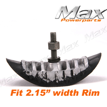 "2.15"" width Fit Most Motorcycle Dirt Pit Bikes 10""12""14""16""17""18""19""21"" Rim Tire Rim Lock tyre security bolt(China (Mainland))"