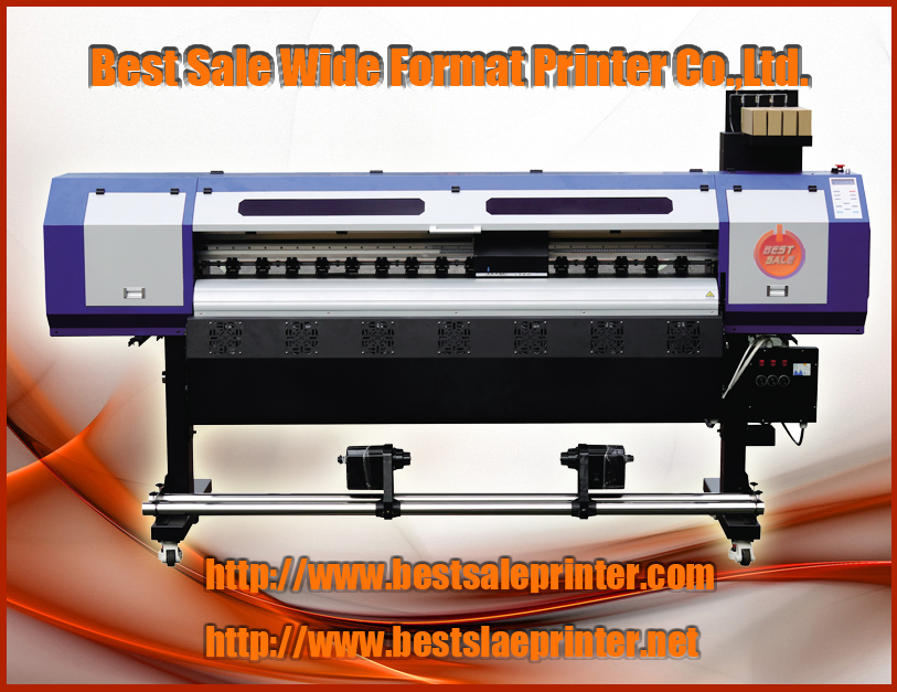 Fast drying infrared heating 1.8m eco solvent printing machine plotter 5113 head CMYK color(China (Mainland))