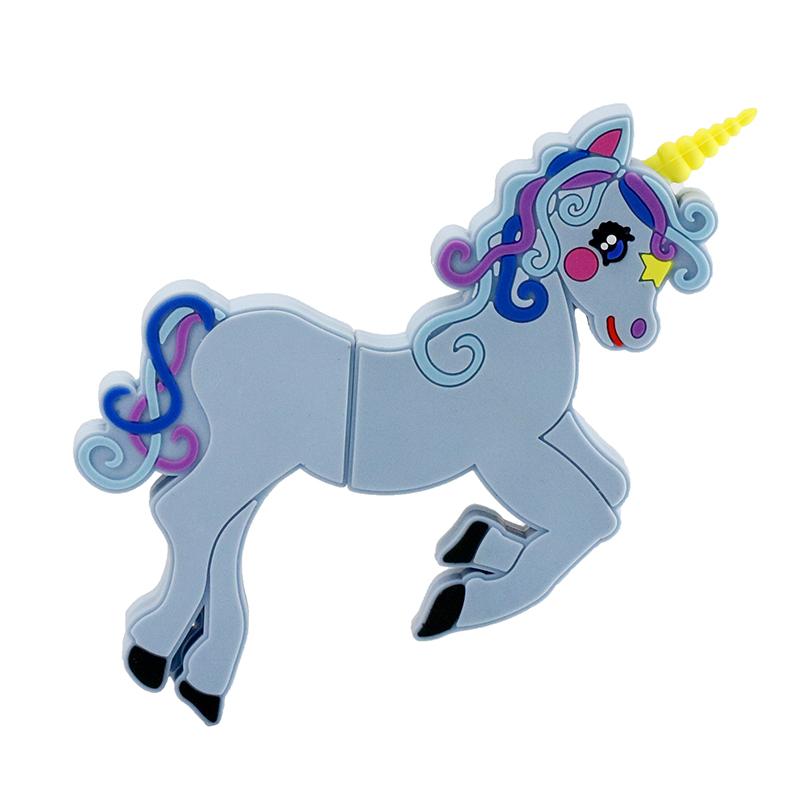 Hot Sale Cartoon Cute Horse USB Flash Drive Pen Drive 4GB 8GB 16GB USB Stick External Memory Storage Pen Drive(China (Mainland))