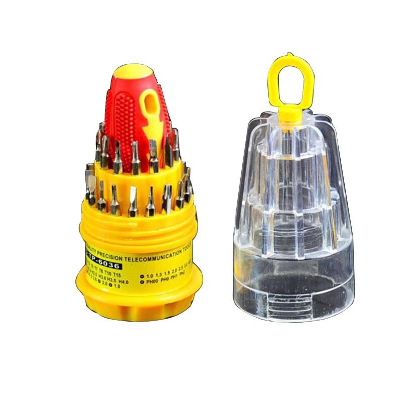 Screwdriver Set Hard Drive Printer Shaver Repair Kit Tools Hardware Repair Tools 31pcs per set HG103