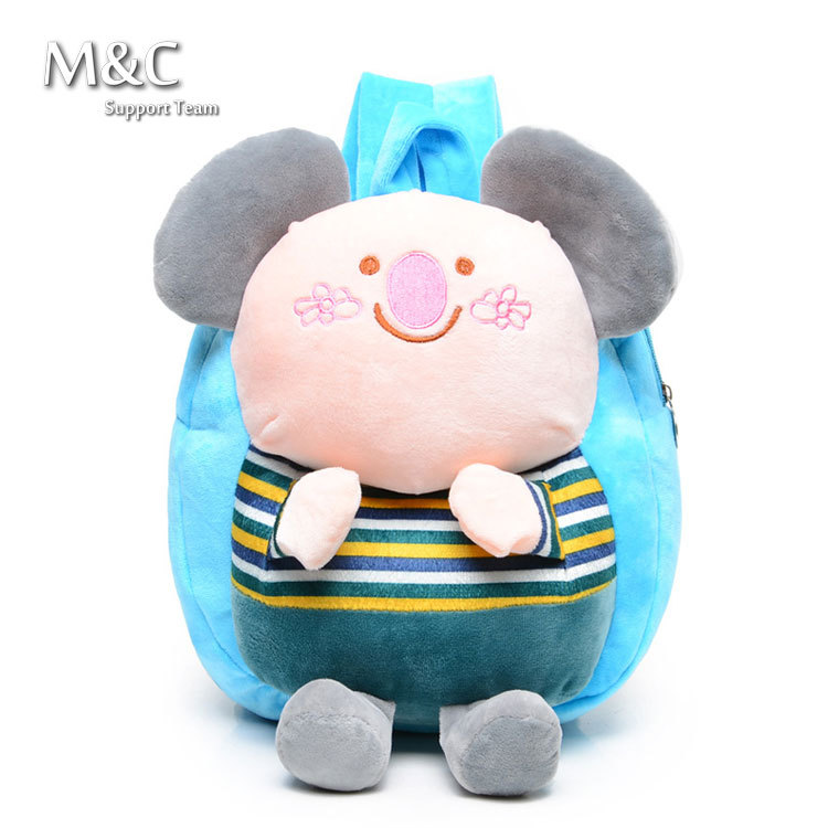 New 2015 Fashion School Bags Backpack Children Baby Bag School Bags For Girls Mochila Peppa Infantil BD-039(China (Mainland))