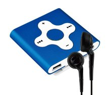 Qinkar 4GB Mini Sport MP3 Player clip cross button metal housing ideal for active music lovers media music player(China (Mainland))