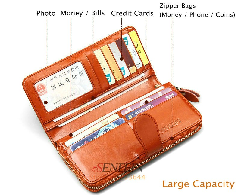 Genuine Leather wallet 4
