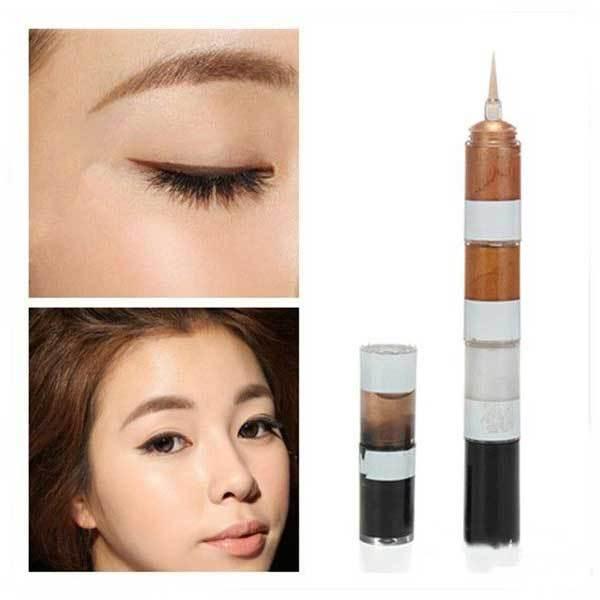 Alifriend 4 Colors Glitter Liquid Eyeliner Makeup Eye Liner(China (Mainland))