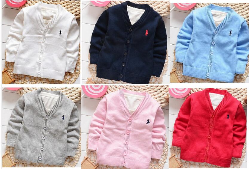 New Kids Boys cardigan Spring candy-colored 100% cotton baby boys and girls in polos single-breasted cardigan jacket colorful(China (Mainland))