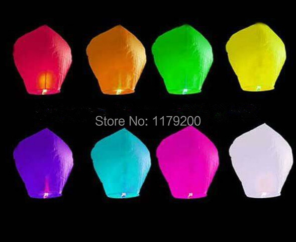 5 PCS Sky Wishing Lantern fire balloons Chinese Kongming Lamp for Kids Valentine's Day Wedding Party Decro Supplies classic toys(China (Mainland))