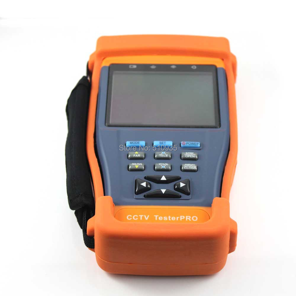 """CJ-TV896 3.5"""" Portable LCD Monitor CCTV Camera Video Tester Engineering Projects Integrated Video Surveillance Monitor Teste(China (Mainland))"""