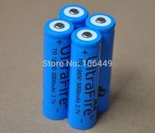 Ultrafire 2 шт./лот 5000 мАч 3.7 В 18650 литий-ионный аккумулятор аккумуляторная литий-ионные аккумулятор для из светодиодов фонарик лазерная указка