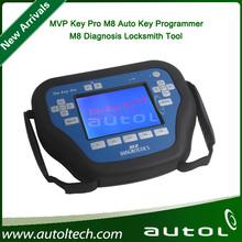 Key Pro M8 Auto Key Programmer M8 Diagnosis Locksmith Tools MVP pro M8 key programmer M8 with 100 tokens