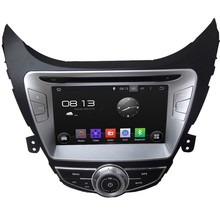 HD 1024*600 Quad Core 1.6G 16GB Android 5.1.1 Car DVD Player Radio GPS Navi Stereo for HYUNDAI Elantra Avante I35 2011 2012 2013