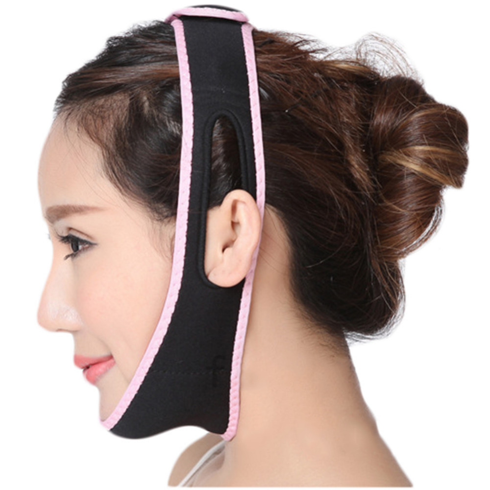 Face Lift Up Belt Reduce Double chin Sleeping Face Lift Mask Massage Slimming Face Shaper Relaxation Facial Slimming Band