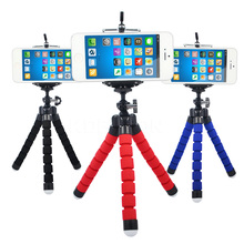 Car Phone Holder Selfie Stand Mount Monopod Octopus Tripod Flexible Bracket Adjustable Styling Accessorie For Camera Cell  Phone