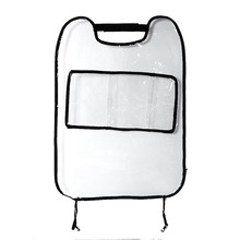 Vehicle Car Accessories Auto Seat Cover Back Protector For Children Kick Mat Storage Bags Car-styling