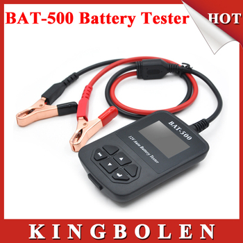 Original BAT-500 BAT500 12V Auto Battery Tester BAT500 Automotive Electrical Battery Analyser For Car/Train/ Bicycles Free Ship