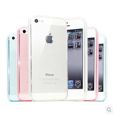 Transparent Protective Silicone Case/Cover Fit For iphone 4 4s Dust-proof For Phone Protective Case no tracking(China (Mainland))