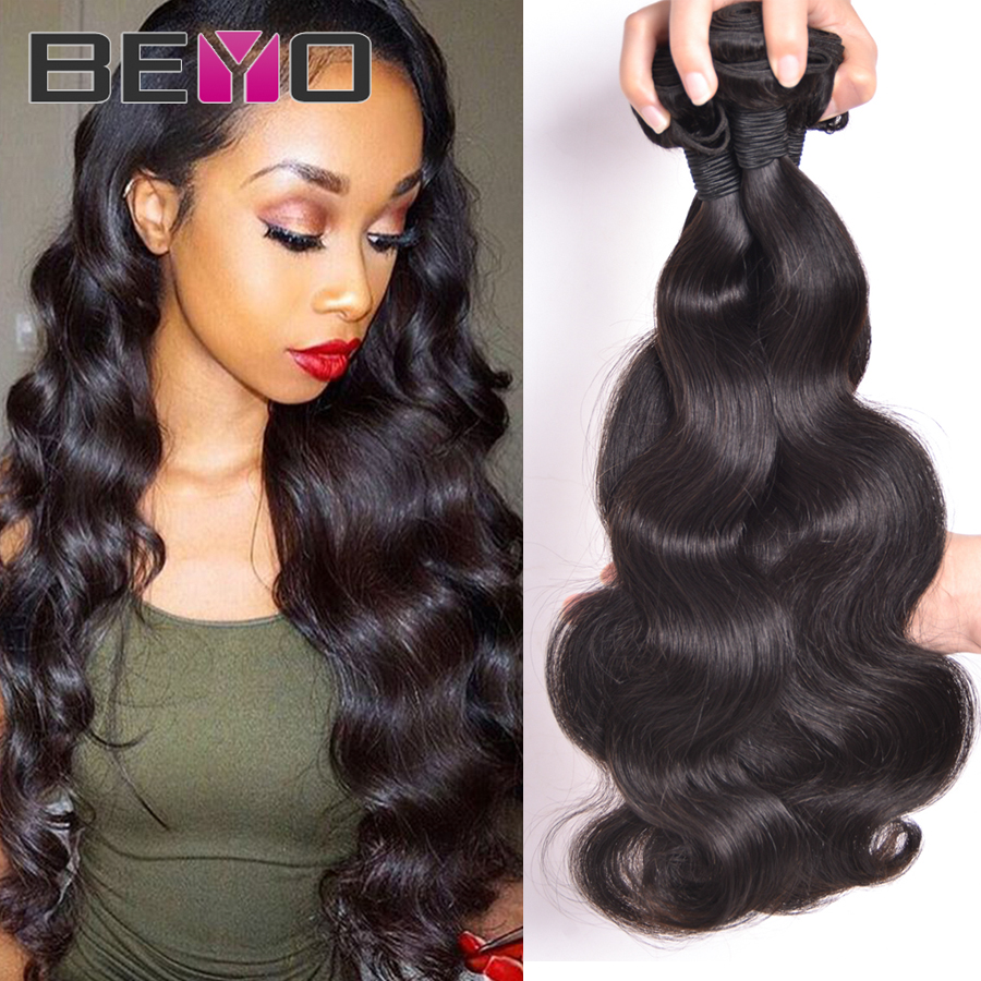 Hot Malaysian Virgin Hair Body Wave 3 Bundles Deals Unprocessed Human Remy Hair Weave Cheap Malaysian Body Wave Hair Extension(China (Mainland))