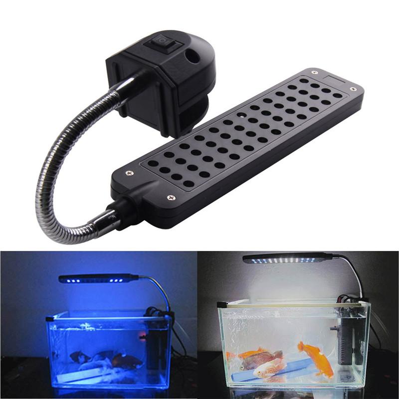 Fish tank light Aquarium accessories Led Light Lamp For Coral Reef aquatic animals EU New 2015 DC12V 3.5W 48LED free shipping(China (Mainland))