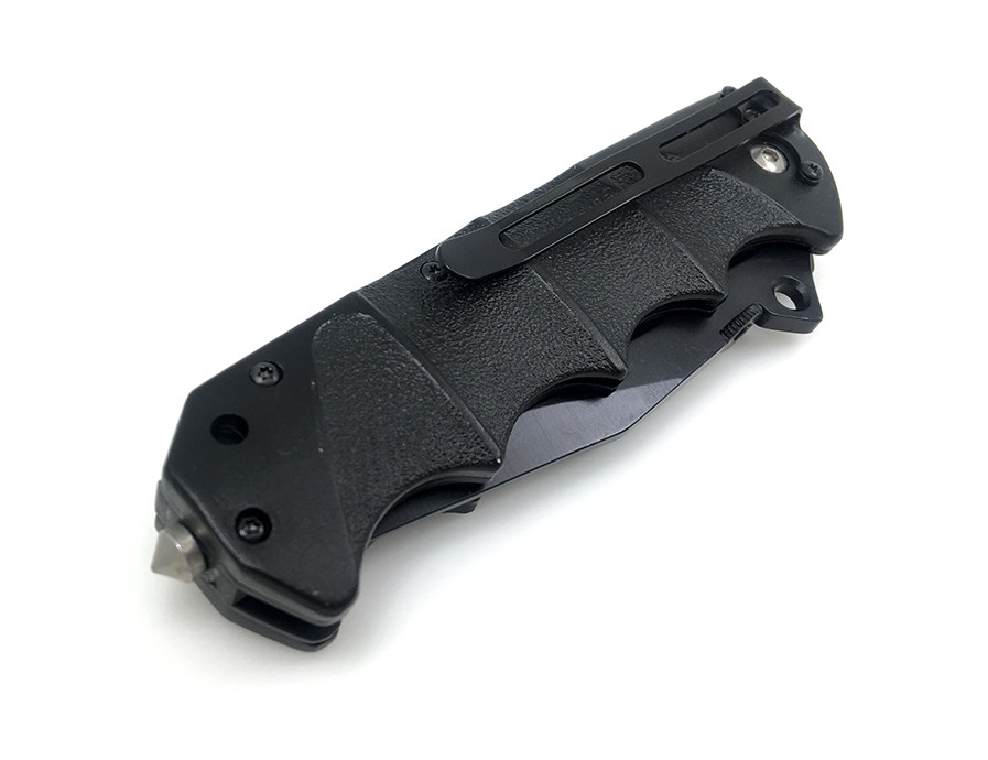 Buy WTT Black Sawtooth Blade Folding Knife Combat Tactical Survival Pocket Knives Utility Outdoor EDC Hunting Camping Portable Tools cheap