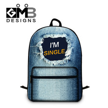 Buy Customized School Backpacks Teenager Girls Fashion Bag Women Stylish Back Pack Schoolbag College Studnet Element Mochila for $26.79 in AliExpress store