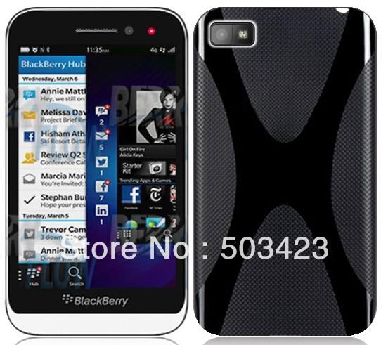 For BlackBerry Z5 TPU Case,X Line Soft TPU Gel Case For BlackBerry Z5 Free Shipping