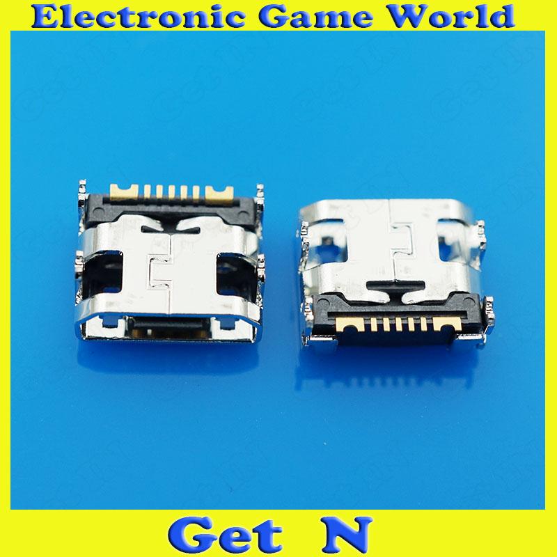 50pcs USB Connector for Samsung S7562i S7568 S6352 S7572 S5368 I619 S6812 Micro USB Original New<br><br>Aliexpress