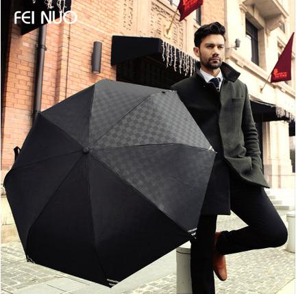 New 2016 fully Automatic Umbrella large 3 Fold Umbrella for Rain Umbrella high quality Both Man and Women's free Shipping(China (Mainland))